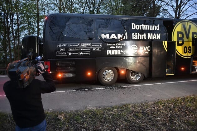 Germany Soccer Bus Bombing