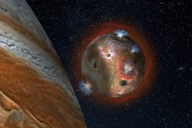 Io Atmosphere Collapse