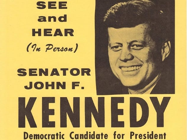 JFK Campaign Poster