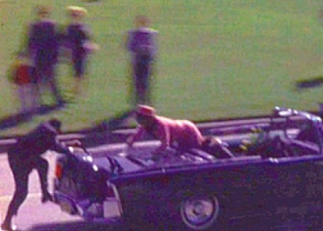 Jackie Kennedy Zapruder Film