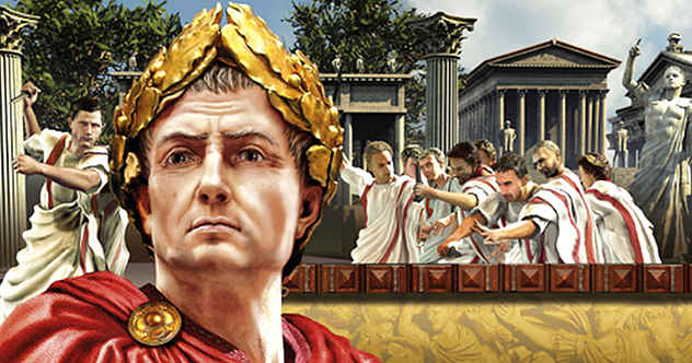 which ceasar in rome was homosexual