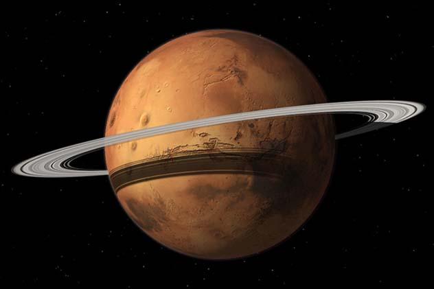 Rings of Mars