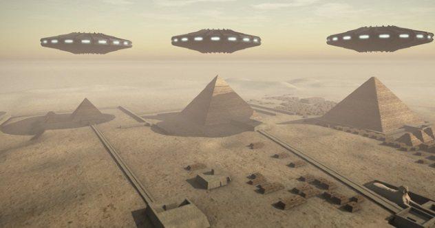 Pyramids Of Egypt Aliens