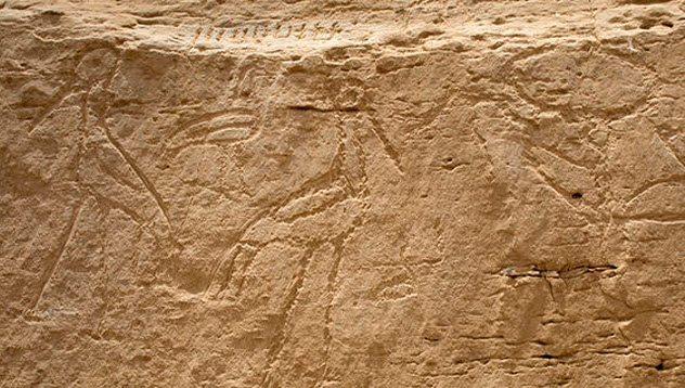 Massive Egyptian Hieroglyphs