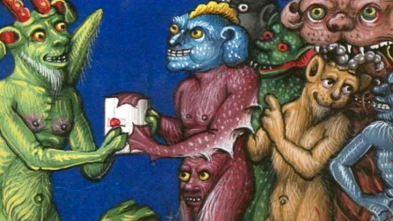 10 Weird Trends That Keep Showing Up In Medieval Art Listverse
