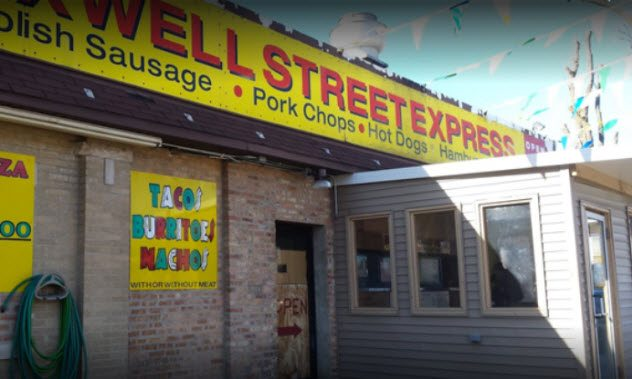 Chicago Hot Dog Stand Penis Shot