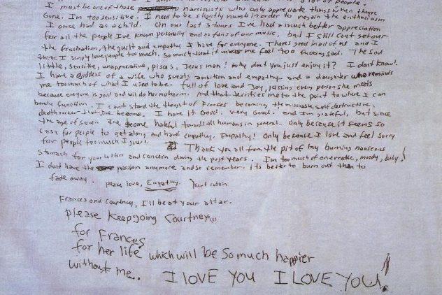 Suicide of Kurt Cobain