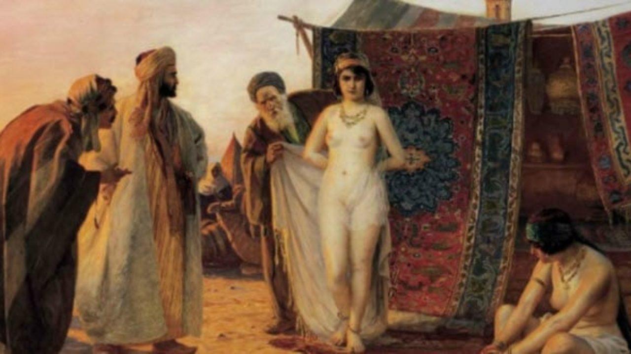 Nude slave market