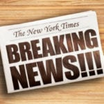 10 Events That Made 'The New York Times' Stop The Presses