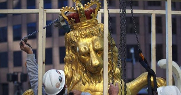 10 Weird Things We Have Found Inside Statues