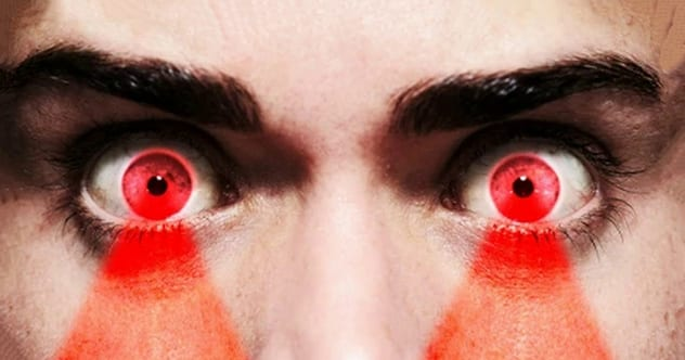 8 Creepy Facts About Lasers, Including Contact Lenses That Fire Laser Beams
