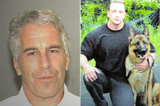 Jeffrey Epstein and attacker Tartaglione