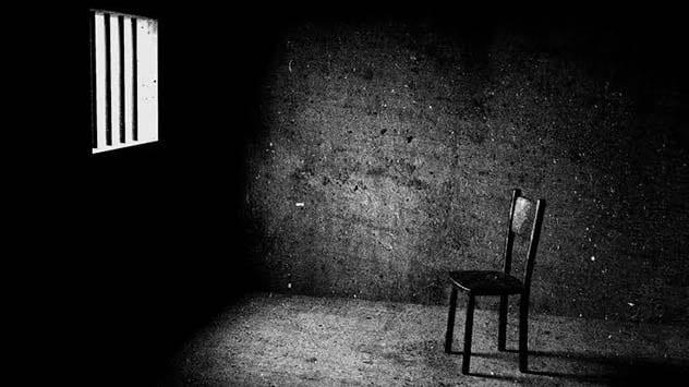 Epstein's empty prison cell
