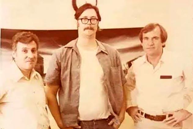 Edmund Kemper and FBI agent Ressler