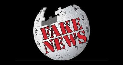 Fake News website Wikipedia