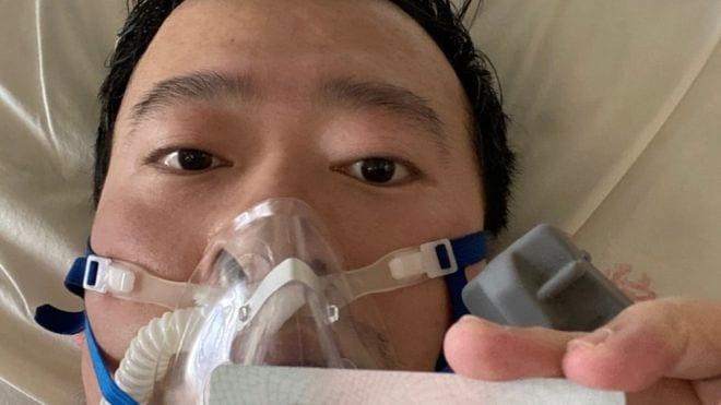 صورة شخصية للدكتور Li Wenliang